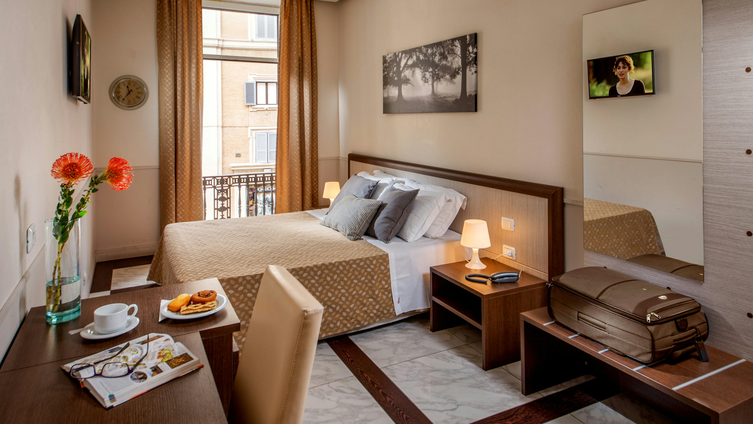 Course Grand Suites Rome - Modern and elegant rooms in central Rome